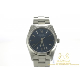 Rolex Air-King 14000M Precision Oyster Perpetual Blue Dail 34mm