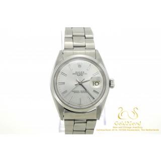 Rolex Oyster Perpetual Date 1500 Zilver Wijzerplaat 34mm 1969
