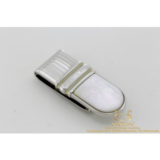 Montblanc money clip Mother of Pearls geldklem
