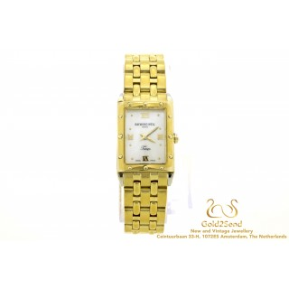 Raymond Weil Tango 5971 Mother of Pearl verguld