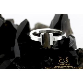 Tiffany & Co Tiffany T 925 zilveren ring