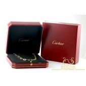Cartier Santos de Cartier Collier Ketting 18krt Goud