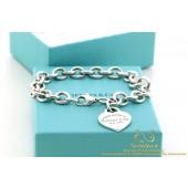 925 Please return to Tiffany & Co New York armband hartje