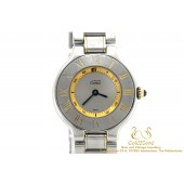 Cartier Must de Cartier Quartz Steel-Gold Lady 1340