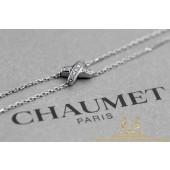 Chaumet Arrmband 082092 Jeux de Liens witgoud 18 karaat diamant