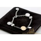 Hermes Paris Confettis Bracelet Rose gold silver