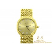 Piaget geelgoud 18 karaat horloge 9556