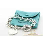 Tiffany & Co hartje zilveren armband