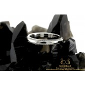 Tiffany & Co Milgrain Platinum ring 3mm Platina