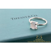 Tiffany & Co Paloma Picasso Sugar Stacks Ring Zilver Kwarts 52