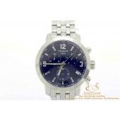 Tissot T055417A PRC200 Chronograaf staal horloge vintage
