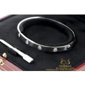 Witgouden Cartier Love Armband 18 karaat 10 diamanten B6040717